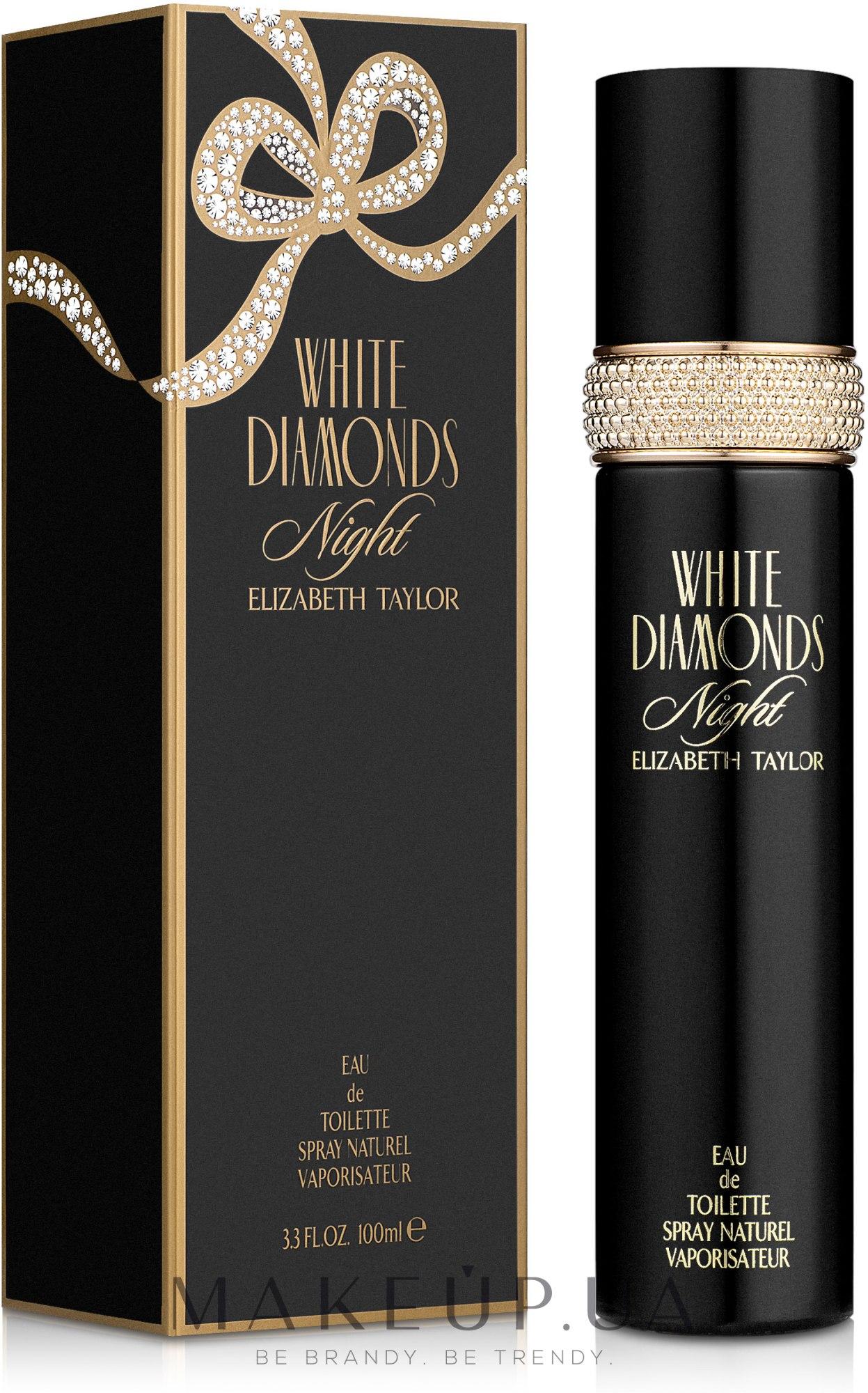 Elizabeth Taylor White Diamonds Night - Туалетная вода — фото 100ml