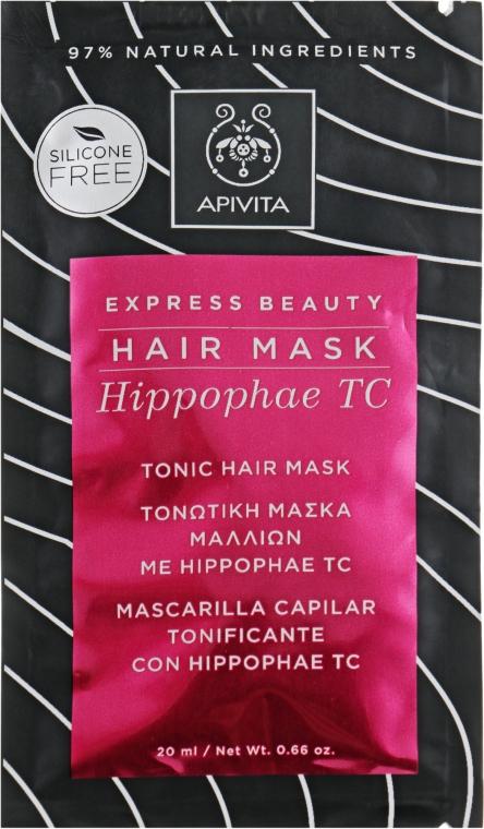 Маска для волос тонизирующая с облепихой - Apivita Tonic Hair Mask With Hippophae TC
