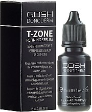 Сыворотка контроль и свежесть Т-зоны - Gosh Donoderm Donoderm T-Zone Refining Serum — фото N1