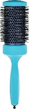 Парфумерія, косметика Брашинг з професійним термостійким нейлоном d 55 mm, блакитний - 3ME Maestri