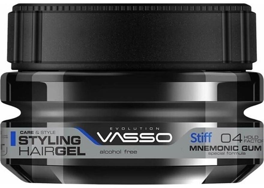 Резина для креативного моделирования прически - Vasso Professional Hair Styling Mnemonic Gum Stiff