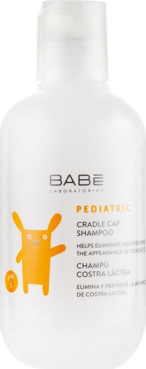 Детский шампунь против себорейных корочек - Babe Laboratorios Cradle Cap Shampoo