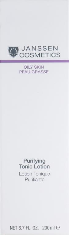 Тоник для жирной кожи и кожи с акне - Janssen Cosmetics Purifying Tonic Lotion