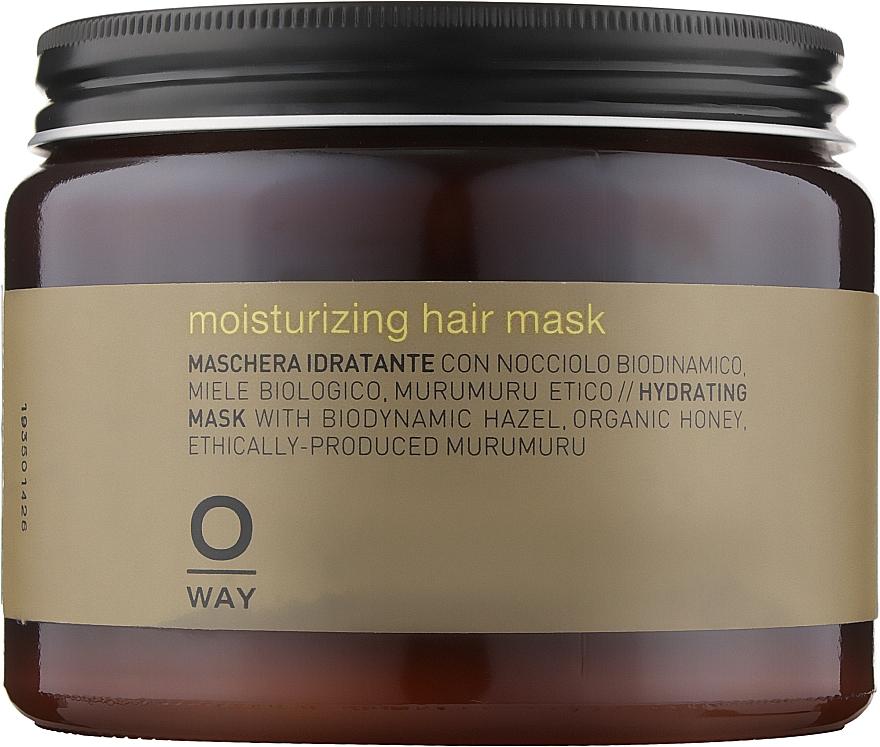 Маска для увлажнения волос - Oway Moisturizing Hair Mask (Стекло)