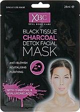 Духи, Парфюмерия, косметика Маска для глубокого очищения лица с активированным углём - Xpel Marketing Ltd Charcoal Detox Facial Mask