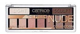 Духи, Парфюмерия, косметика Палетка теней - Catrice The Fresh Nude Collection Eyeshadow Palette