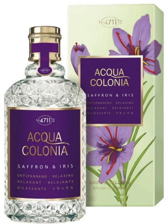 Maurer & Wirtz 4711 Acqua Colonia Saffron & Iris - Одеколон
