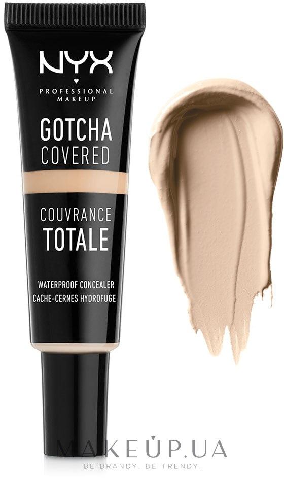 Универсальный консилер - NYX Professional Makeup Gotcha Covered Concealer — фото 1PT5 - Soft Ivory