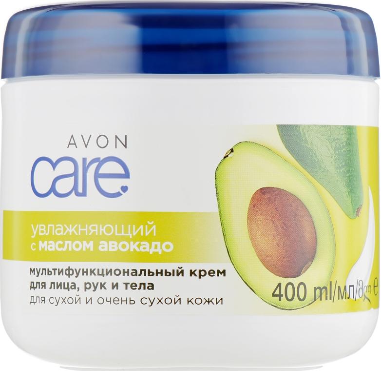 Многофункциональный увлажняющий крем для лица, рук и тела с маслом авокадо - Avon Care Moisturizing Cream With Avocado